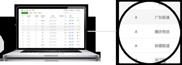 YCS 云主机支持多线路,针对不同地区解析到不同的线路 IP,最大程度优化浏览体验